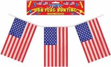 12ft USA BUNTING 11 Flags American Stars & Stripes Flag Decoration 4th July