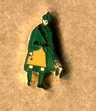 NEW IRISH GUARDS PIPER LAPEL BADGE BRITISH ARMY LIGHT INFANTRY THE MICKS