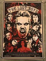 The Lost Boys Corey Haim Feldman Movie Art Print Poster Mondo James Rheem Davis