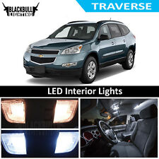 For 2009-2014 Chevy Traverse White LED Interior Lights Accessories MAP DOME KIT