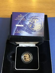 2003 Royal Mint Gold Proof Full Sovereign