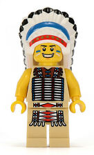 LEGO Rosso Capo Indiano minifigura NUOVO di zecca