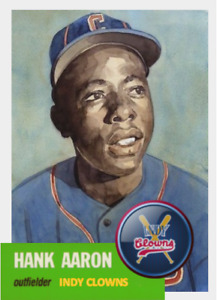 HANK AARON 53 CLOWNS ACEO ART CARD ## BUY 5 GET 1 FREE ### or 30% OFF 12 OR MORE