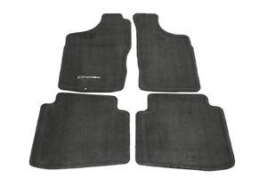 2000-2004 Nissan Xterra Charcoal Carpeted Carpet Floor Mats Mat Set 999E2KP000CH