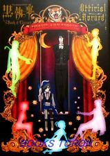 Black Butler Book of Circus Official Record TV Anime Illustration Book Japan