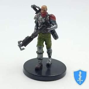 Diasporan Space Pirate - Starfinder Battles Galactic Villains #2 D&D Miniature