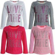 Mädchen-Tops, - T-Shirts & -Blusen im kurzem-Langarm