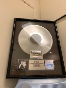 Sting RIAA Platinum Record Award 1 Million Copies Sold - Nothing Like The Sun