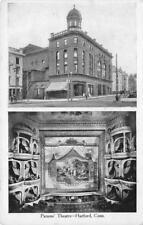 PARSONS' THEATRE Hartford, Connecticut Interior View Vintage ca 1907 Postcard