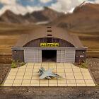 1/72, 1/64 HO Scale Aircraft Hangar Model Scenery Diorama Photo Real Kit
