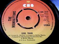"MANHATTANS - SOUL TRAIN   7"" VINYL"