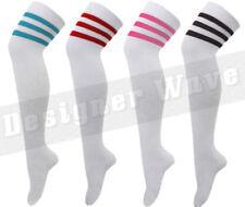 Medias y calcetines de mujer de color principal blanco de algodón