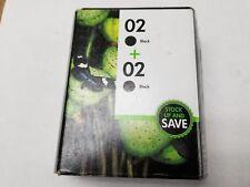 02 two BLACK ink HP PhotoSmart C8180 C8150 C7280 C7250 C7180 C7150 C6280 printer
