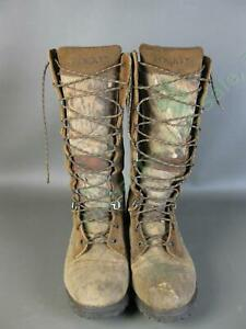 """Rocky Low Country 7500 Waterproof Snake Boots Men Size 12 MW 15"""" Inch High Camo"""