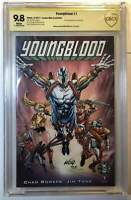 Youngblood #1 (Image 2017) CBCS 9.8 Signed Rob Liefeld Exclusive Variant Cover