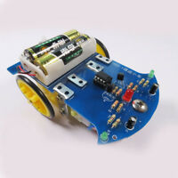LM393 DIY Educational Electronic Bread Board KIT Tracking Line Car Robot Kids