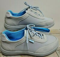 SAS Women Shoes Sporty Silver 7.5 W W In Box Nice