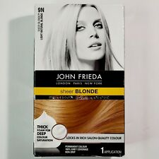 John Frieda Precision Foam Colour Light Natural Blonde 9N Permanent Hair Color
