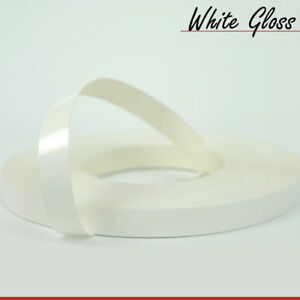 Melamine Pre Glued Iron On Edging Tape Banding Veneer Strip 20mm various colours