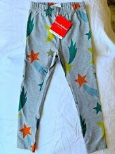 Hanna Andersson 100 4T New NWT Leggings Pants Space Shooting Stars Moon Gray