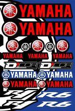 Yamaha Aufkleber Blatt Motorrad Hochwertiges Laminat Yamaha R1 Yamaha R6