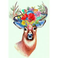 5D Full Drill DIY Diamond Painting Animal Embroidery Cross Stitch Kits Art Craft