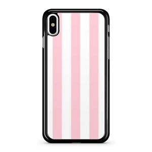 Magnificent Pink Delightful White Stunning Stripes Pattern 2D Phone Case Cover