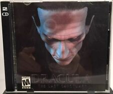 Great DRACULA: THE LAST SANCTUARY 2001 (PC Game Windows 98 / ME / XP Hard 2 Find