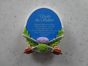 Under the Saltire Fridge Magnet. Scotland, Scottish.