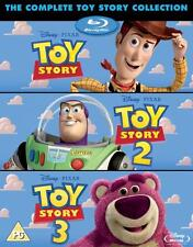 Toy Story Trilogy 1+2+3 Complete Collection Blu-ray Boxset Boxed Set New