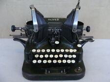 OLIVER TYPEWRITER MACCHINA DA SCRIVERE OLIVER 5 EPOCA OLD