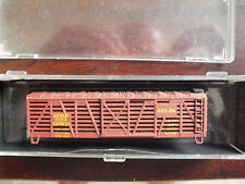 Vintage N Guage Armour Stock Car No Trucks Couplers in Box 7071