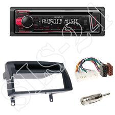Kenwood kdc-110ur radio + toyota corolla (e12u/e12j) 1-din diafragma + adaptador ISO