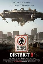 District 9 movie poster : 11 x 17 inches