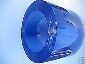 PVC Streifenvorhang  Lamellenvorhang 3mm 30cm Meterware