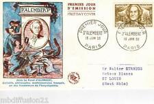 1959//ENVELOPPE,FDC 1°JOUR**JEAN D'ALEMBERT**TIMBRE Y/T 1209