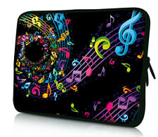 """Music Note Sleeve Bag Laptop Case For 11.6"""" 12.1"""" 12"""" Computer Notebook Cover"""