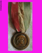 DEC1837 - MEDAILLE 50° ANNIVERSAIRE MORT DE GARIBALDI 1932 ITALIE
