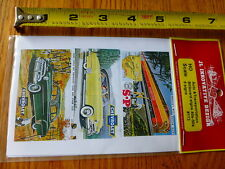 JL Innovative Design HO #173 Auto Transportation Billboard Signs 40's & 50's