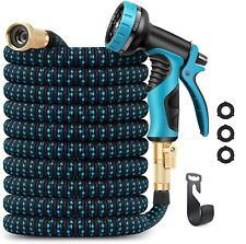 50ft Garden Hose Expandable Water Hose & 9 Function Nozzle Extra Strength Us