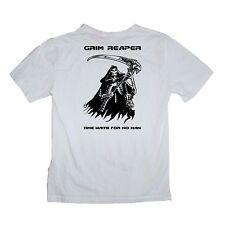 Grim Reaper Death Skeleton Scythe Reap Angel Shirt Hell Sizes S-XXXL Many Colour