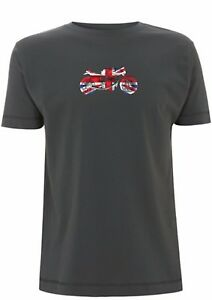 Norton Manx T Shirt Union Jack classic British Motorcycle isle of man tt race