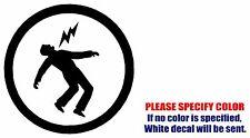 "Warning Green Day symbol JDM Vinyl Decal Sticker Car Window Bumper Wall Boat 6"""