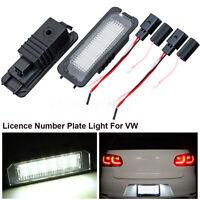 LED Éclairage Plaque d'immatriculation pour VW Golf Polo MK4 5 Passat