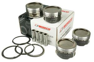 Forged pistons kit Wiseco 4 cyl fits Mazda Miata MX-5 / Protege 1.8l 16V BP - en