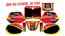 N 165 HONDA QR 50 DECALS STICKERS GRAPHICS KIT