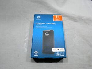 G-Technology - G-DRIVE Mobile SSD R-Series 1TB External USB 3.1 Gen 2 Portabl...