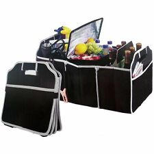 Heavy Duty Collapsible Car Boot Organiser Foldable Shopping Tidy Storage New