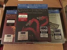 Game of Thrones Season 3 Blu-ray House Targaryen, Stark, Lannister LIMITED NEW