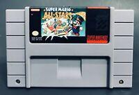 Super Nintendo SNES Cartridge Super Mario All Stars Video Game SNS-USA/CAN-1